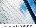 windows of modern office... | Shutterstock . vector #243134590
