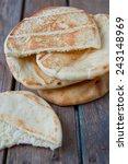 pita bread | Shutterstock . vector #243148969