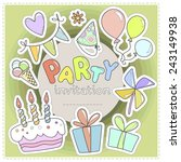Bright Colorful Invitation To ...