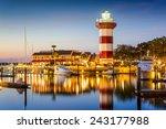 hilton head  south carolina ... | Shutterstock . vector #243177988