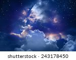 stars in the night sky | Shutterstock . vector #243178450