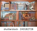 the magical world of books.... | Shutterstock . vector #243182728