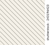 Vector seamless pattern. Regular monochrome texture. Stripes from diagonal dotted lines