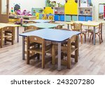 children's furniture and toys... | Shutterstock . vector #243207280