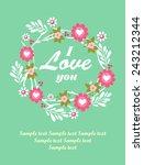 i love you | Shutterstock .eps vector #243212344