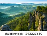 View From Viewpoint Of Bastei...