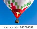 Detail Colorful Hot Air Balloo...