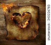 Valentines Background. Heart On ...