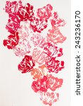 Floral  Rose  Hand Made Printe...