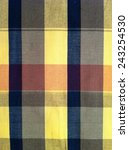 abstract texture plaid cotton... | Shutterstock . vector #243254530