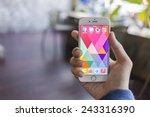 chiang mai  thailand   january... | Shutterstock . vector #243316390