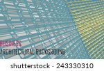 abstract vector architectural... | Shutterstock .eps vector #243330310