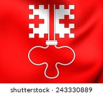 flag of nidwalden  switzerland. ... | Shutterstock . vector #243330889