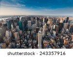 New York City Manhattan View...