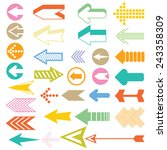 Arrow Icons Set  Arrow Vector