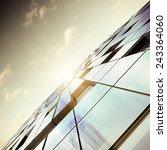 contemporary architecture.... | Shutterstock . vector #243364060
