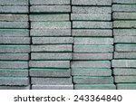 gray concrete at a construction ... | Shutterstock . vector #243364840