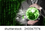 internet concept | Shutterstock . vector #243367576