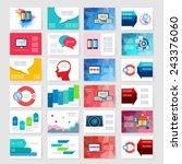 template. flyer  brochure... | Shutterstock .eps vector #243376060