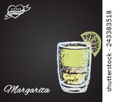 color illustration of cocktail... | Shutterstock .eps vector #243383518