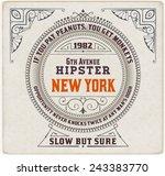 baroque label. vector file   Shutterstock .eps vector #243383770
