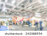generic trade show stand with... | Shutterstock . vector #243388954