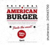 menu  logo design  background... | Shutterstock .eps vector #243465700