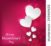 happy valentines day. 14... | Shutterstock .eps vector #243469633