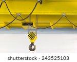 overhead crane. | Shutterstock . vector #243525103