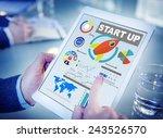start up planning innovation... | Shutterstock . vector #243526570