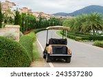 Golf Cart Or Club Car Park On...