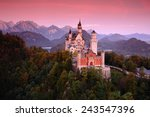 beautiful evening view of the... | Shutterstock . vector #243547396