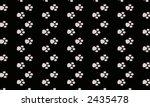 paw print pattern | Shutterstock . vector #2435478