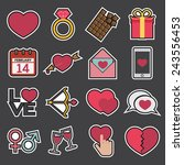 love icon | Shutterstock .eps vector #243556453