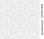 seamless pattern of... | Shutterstock .eps vector #243557404