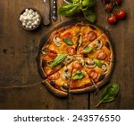 pizza   Shutterstock . vector #243576550