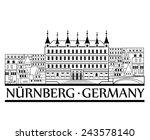 Nurnberg City View. Travel...