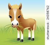 baby animal collection  horse   ...