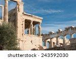 Caryatids In Erechtheum From...