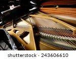 Open A Piano  Strings.