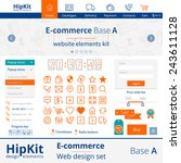hipkit e commerce web design...