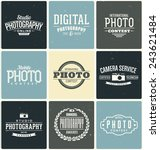 typographic photography themed... | Shutterstock .eps vector #243621484