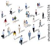 diverse diversity ethnic...   Shutterstock . vector #243637156