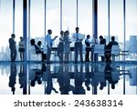 business people discussion... | Shutterstock . vector #243638314