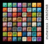 flat design  folder | Shutterstock .eps vector #243652468