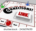 get the most connections words... | Shutterstock . vector #243659650