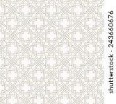 tangled modern pattern  based...   Shutterstock .eps vector #243660676