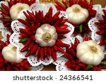 bouquet with wild onion and...
