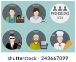 profession people | Shutterstock .eps vector #243667099