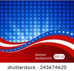abstract illustration of the... | Shutterstock .eps vector #243674620